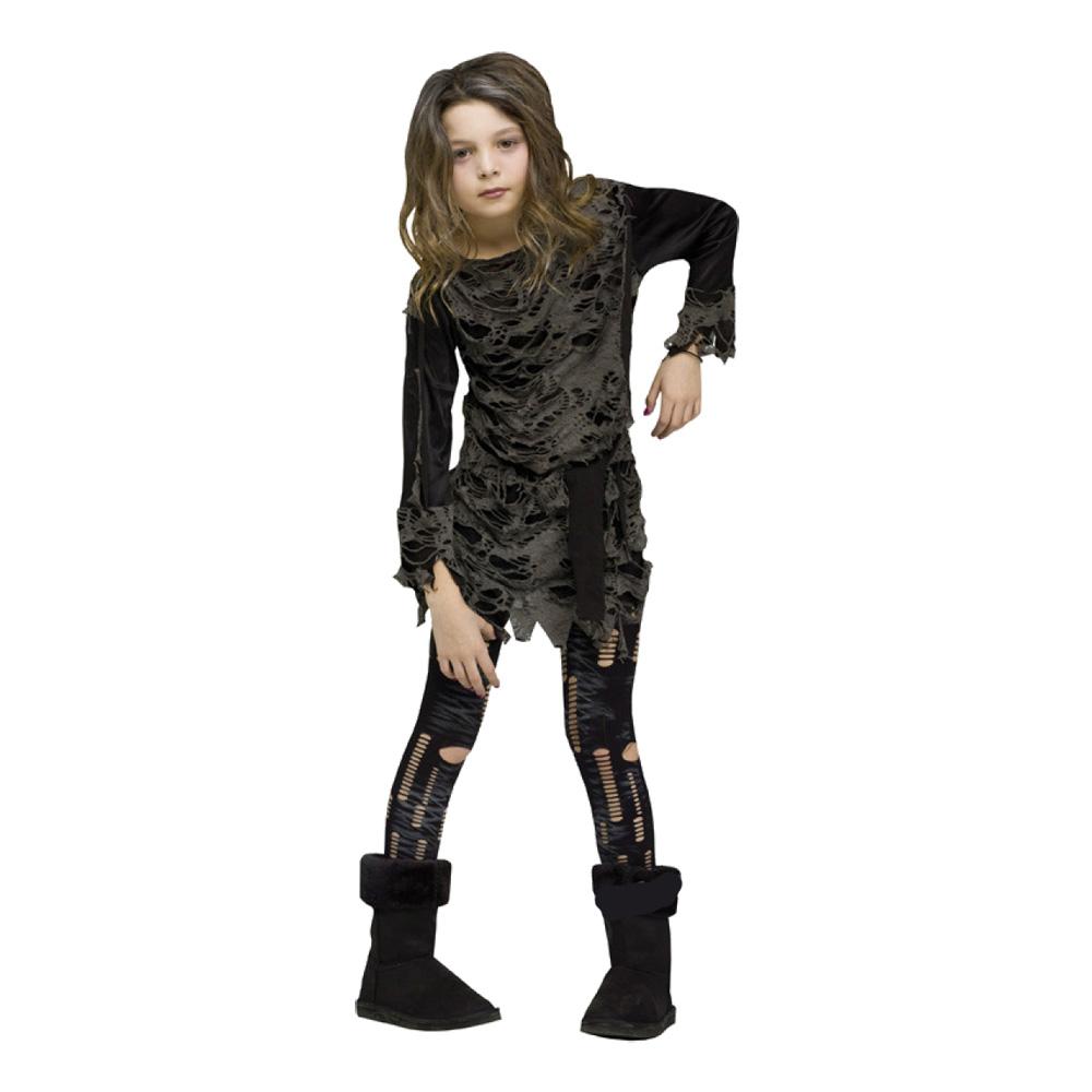 Zombieklänning Barn Maskeraddräkt