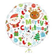 Folieballong Christmas Icons