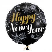 Folieballong Happy New Year