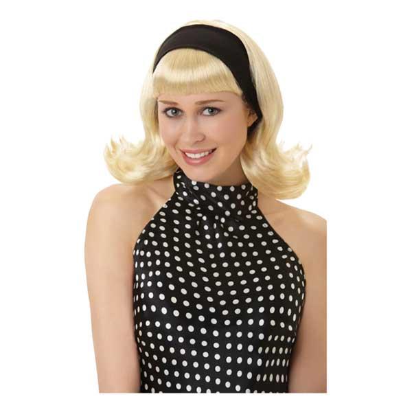 50-tals Peruk Blond