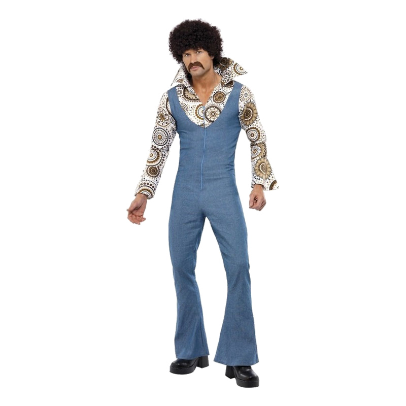 70-tals Groovy Dancer Maskeraddräkt - Medium