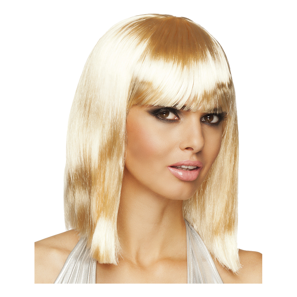 90-tals Dance Blond Peruk - One size