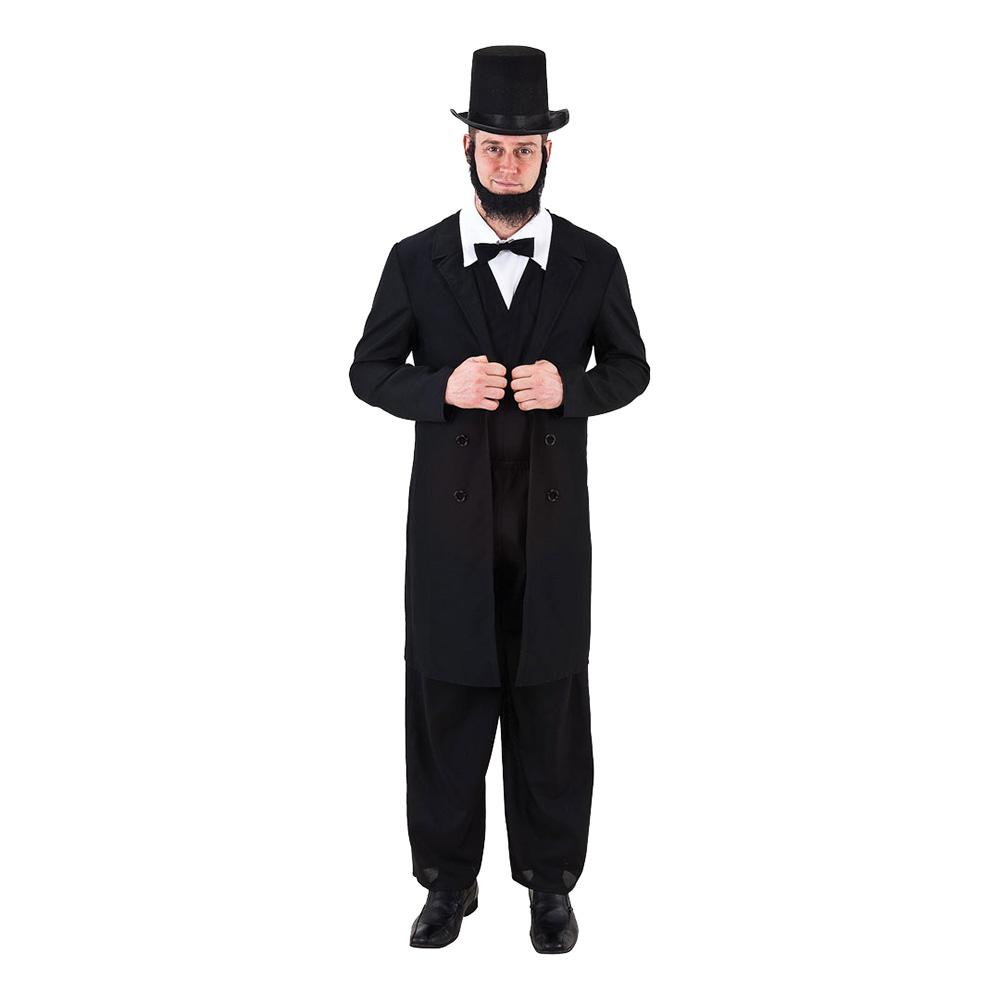 Abe Lincoln Maskeraddräkt - One size