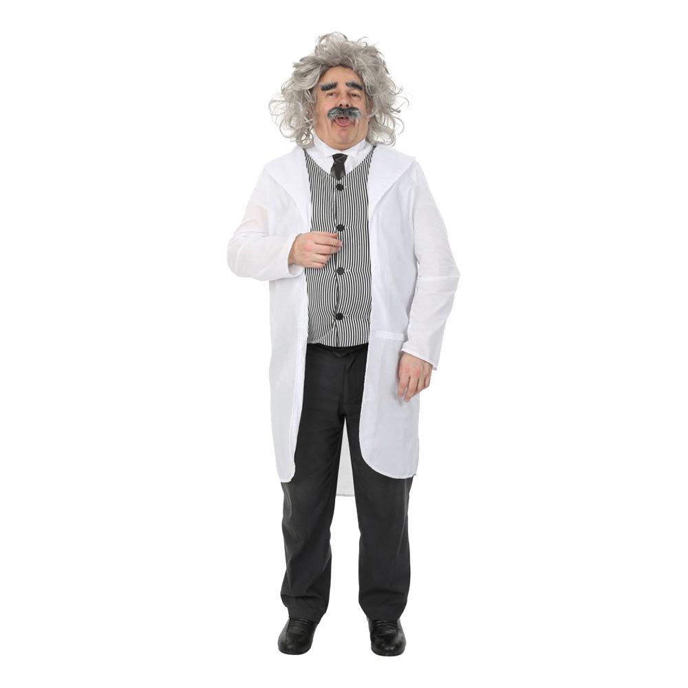 Albert Einstein Maskeraddräkt - Standard