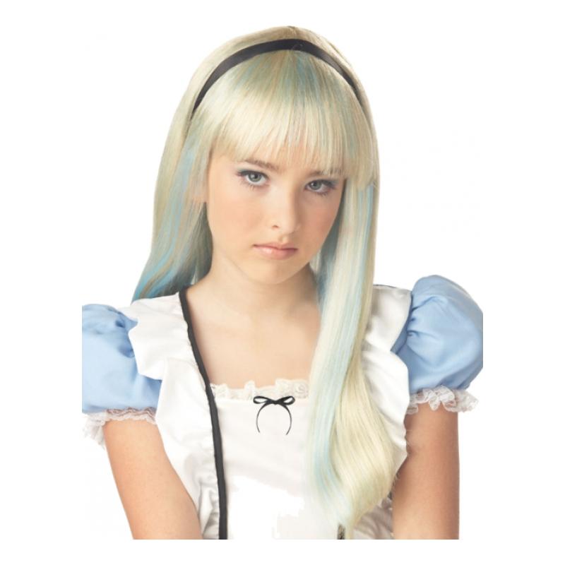 Alice i Underlandet Peruk - One size