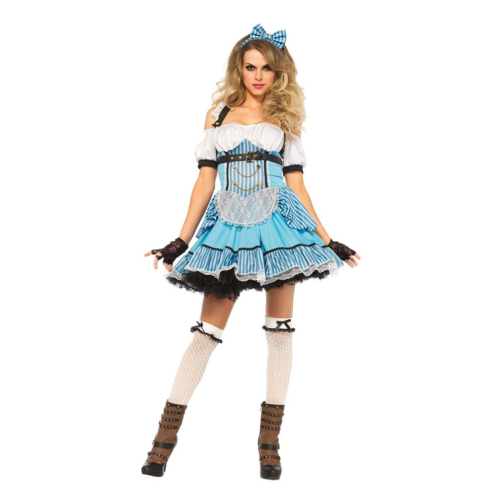 Alice Rebell Deluxe Maskeraddräkt - Small