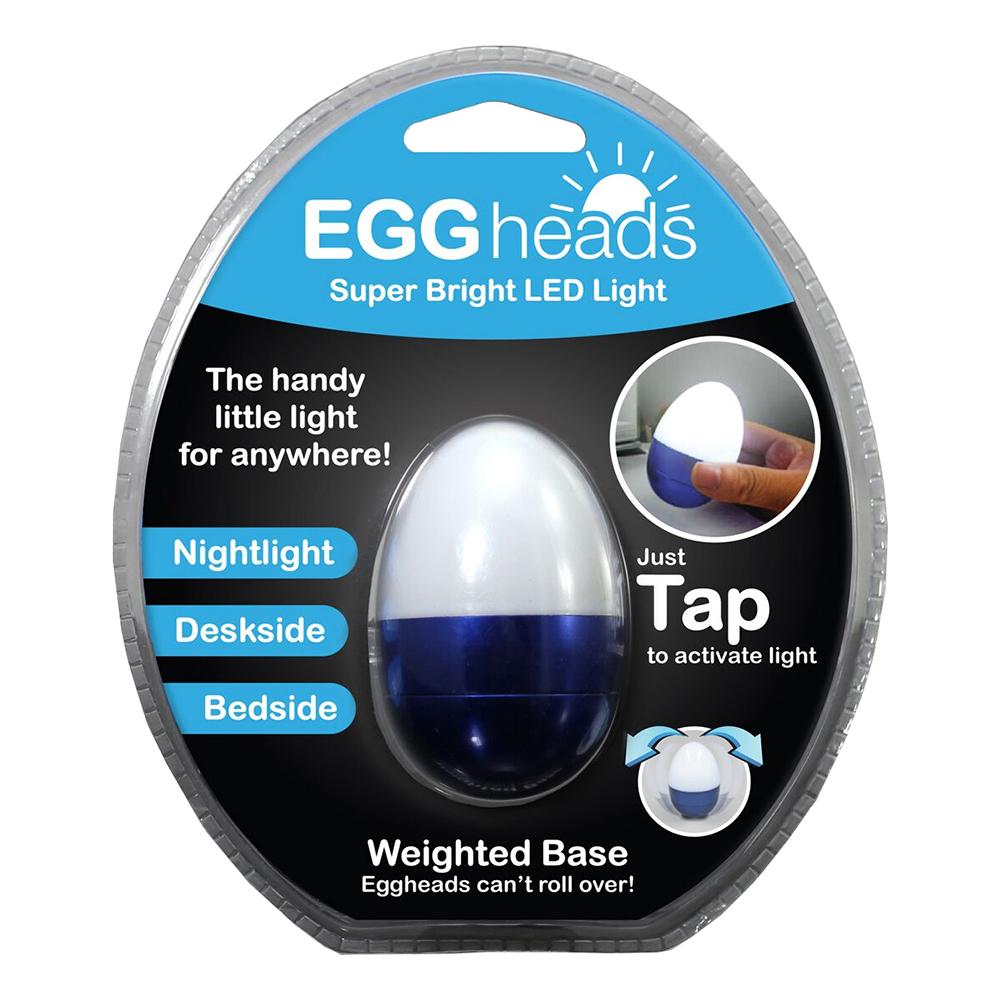 Aluminum Egg Wobble Light