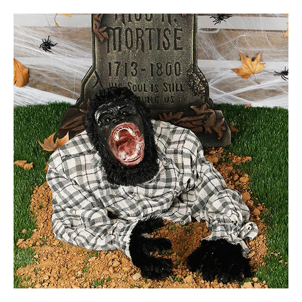 Animerad Gorilla ur Marken med Ljudeffekter Prop