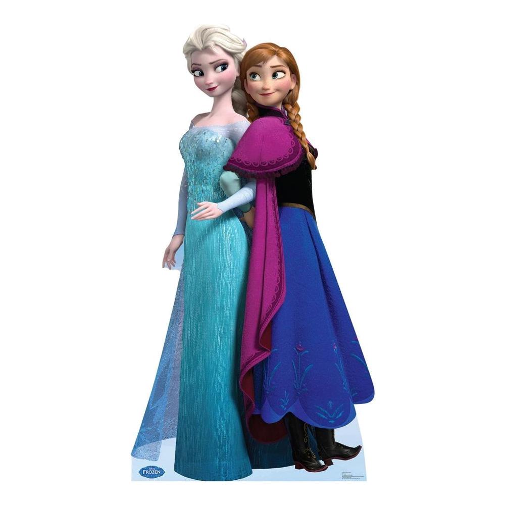 Anna & Elsa Kartongfigur