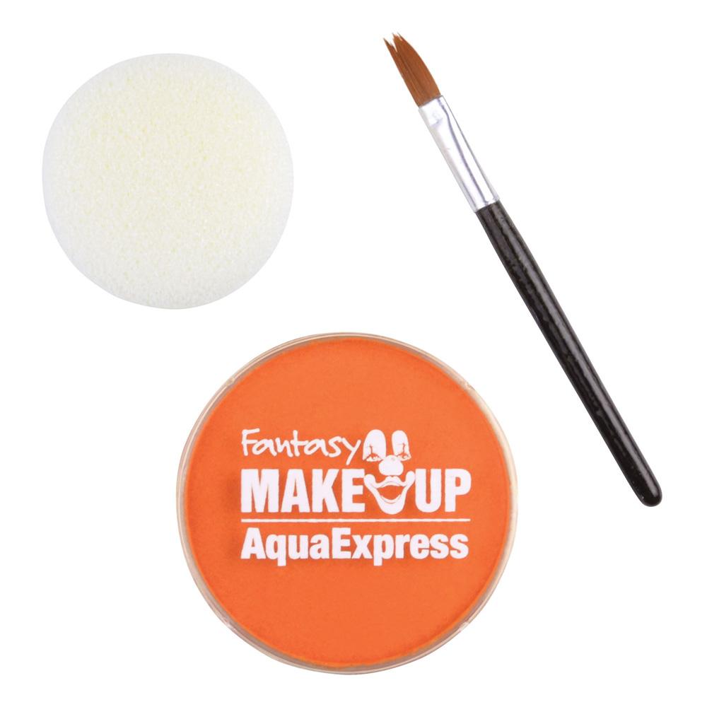 Ansikts- & Kroppsfärg Aqua Sminkset - Orange