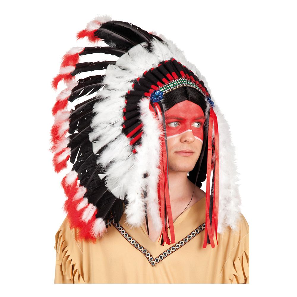 Apache Indian Fjäderskrud - One size