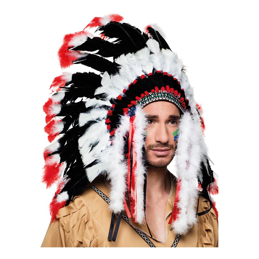 Apache Autentiskt Indianskrud - One size