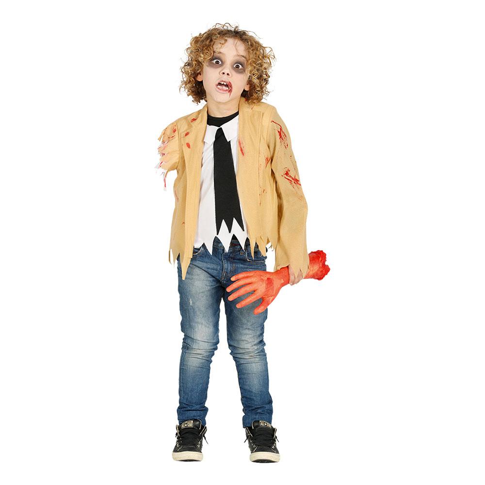 Armlös Zombie Barn Maskeraddräkt - Small