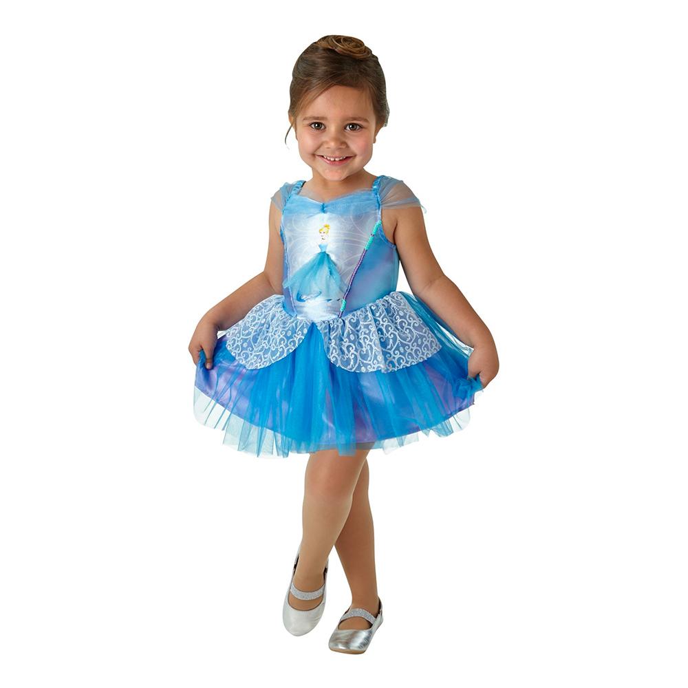 Askungen Ballerina Barn Maskeraddräkt - Medium