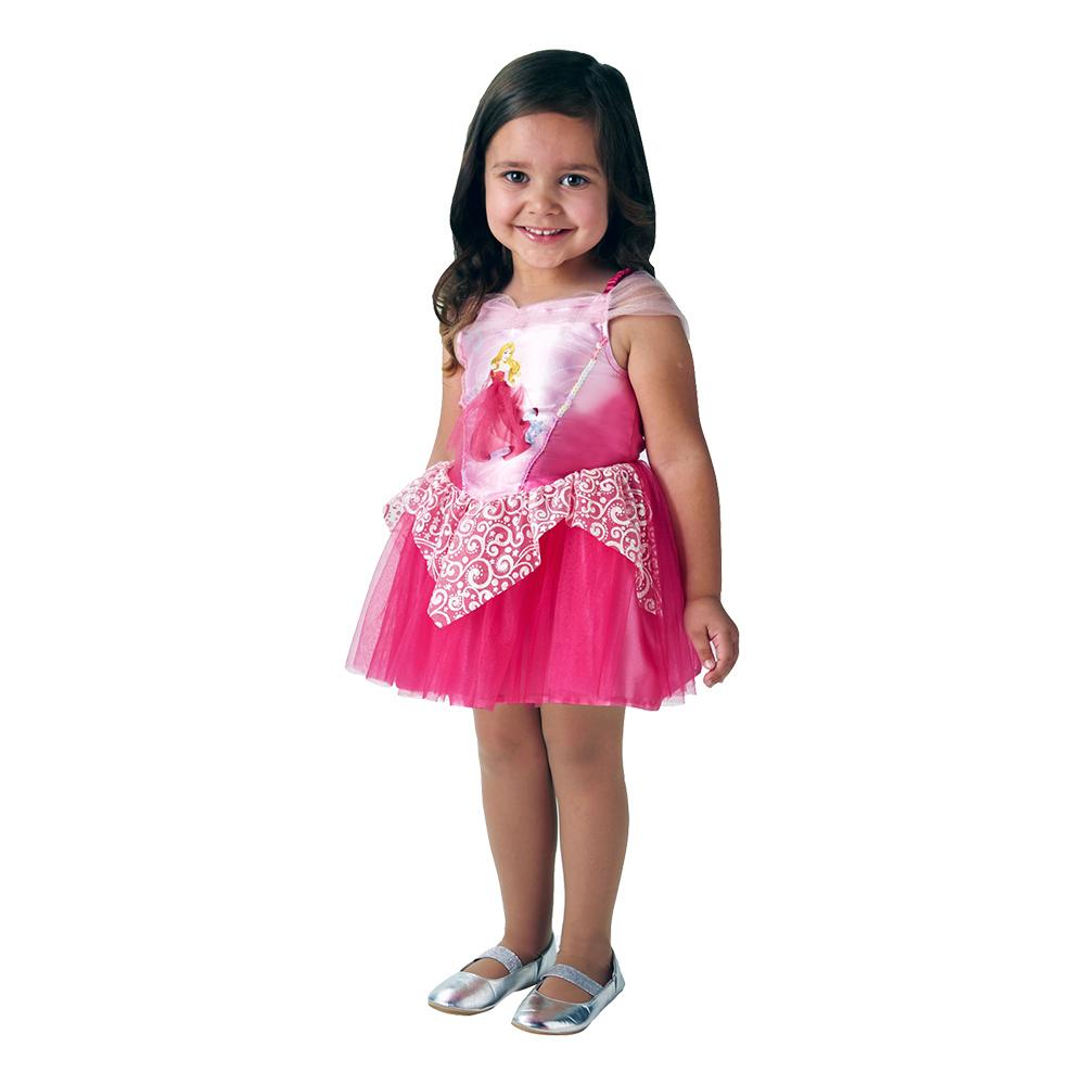 Törnrosa Ballerina Barn Maskeraddräkt - Medium e495963561a0b
