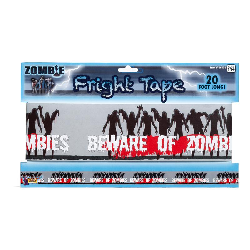 Zombievarning Avspärrningsband