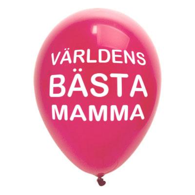 Ballonger Morsdag - 8-pack