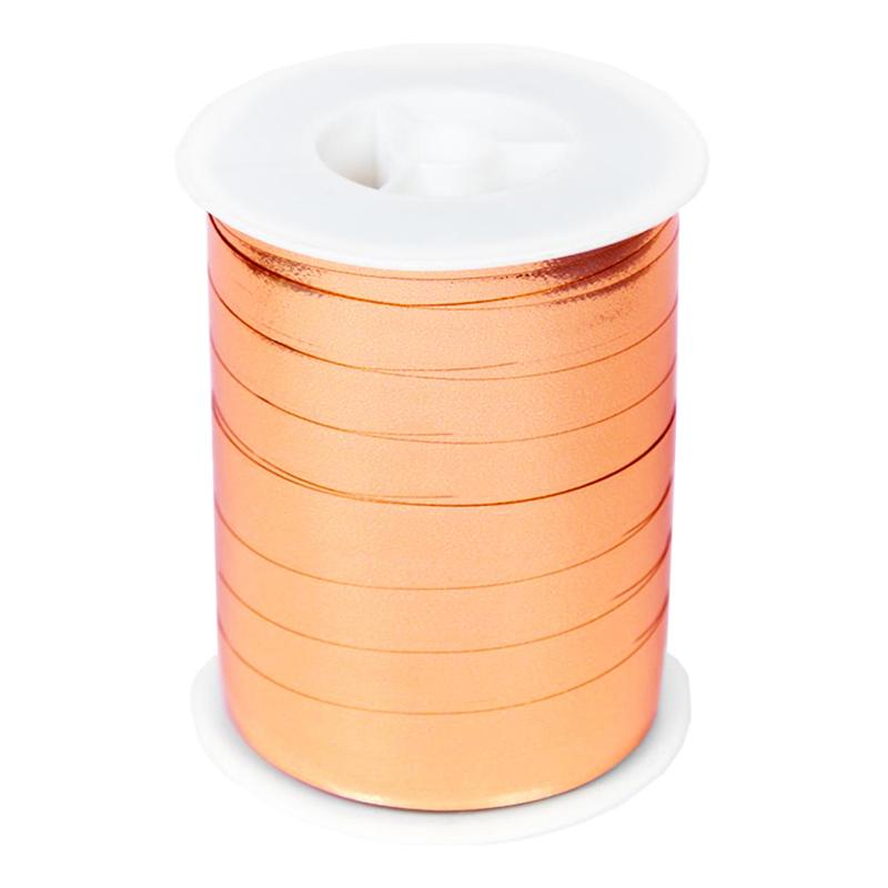 Ballongsnöre Metallic Roséguld - 250m * 10mm