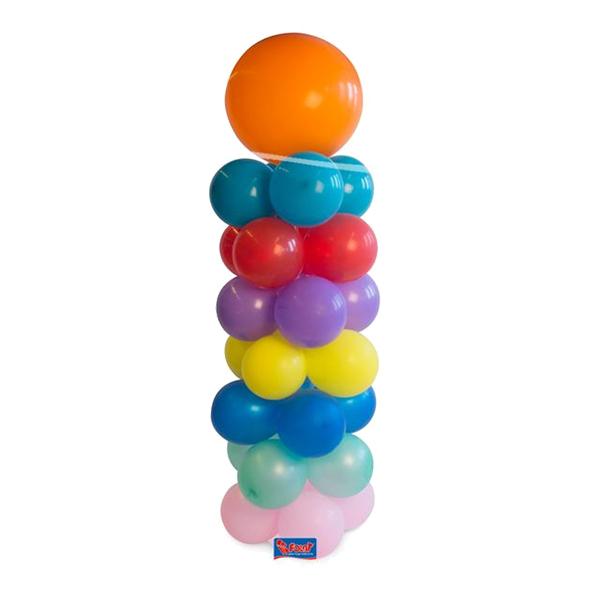 Ballongställ Rakt Med bas - 120 cm