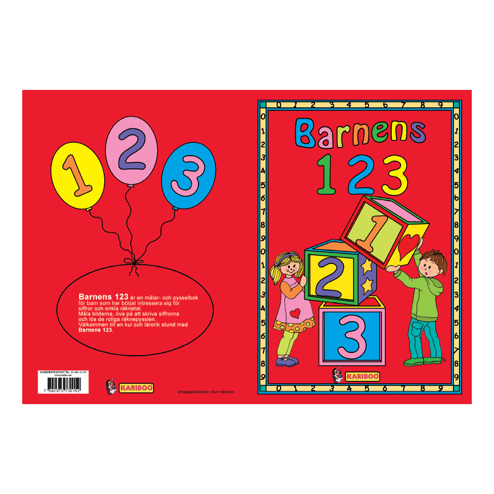 Barnens 123 Bok