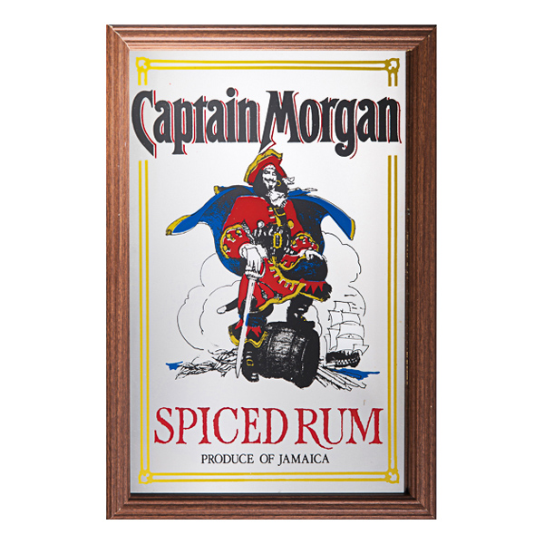 Barspegel Captain Morgan