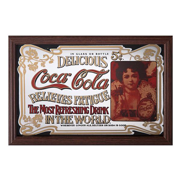 Barspegel Coca-Cola Delicious