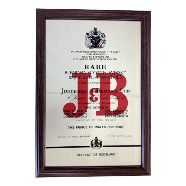Barspegel J&B