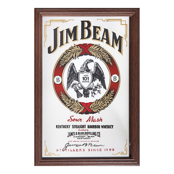 Barspegel Jim Beam