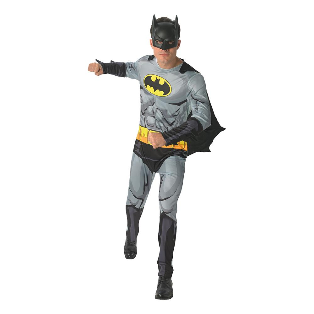 Batman Serietidning Maskeraddräkt - Standard