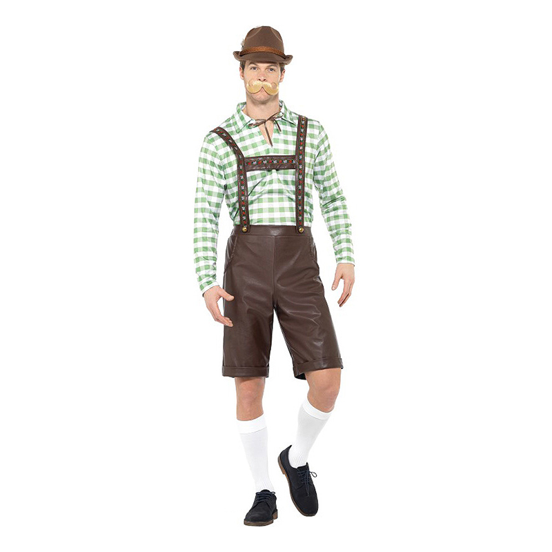 Bavarian Man Maskeraddräkt - Medium