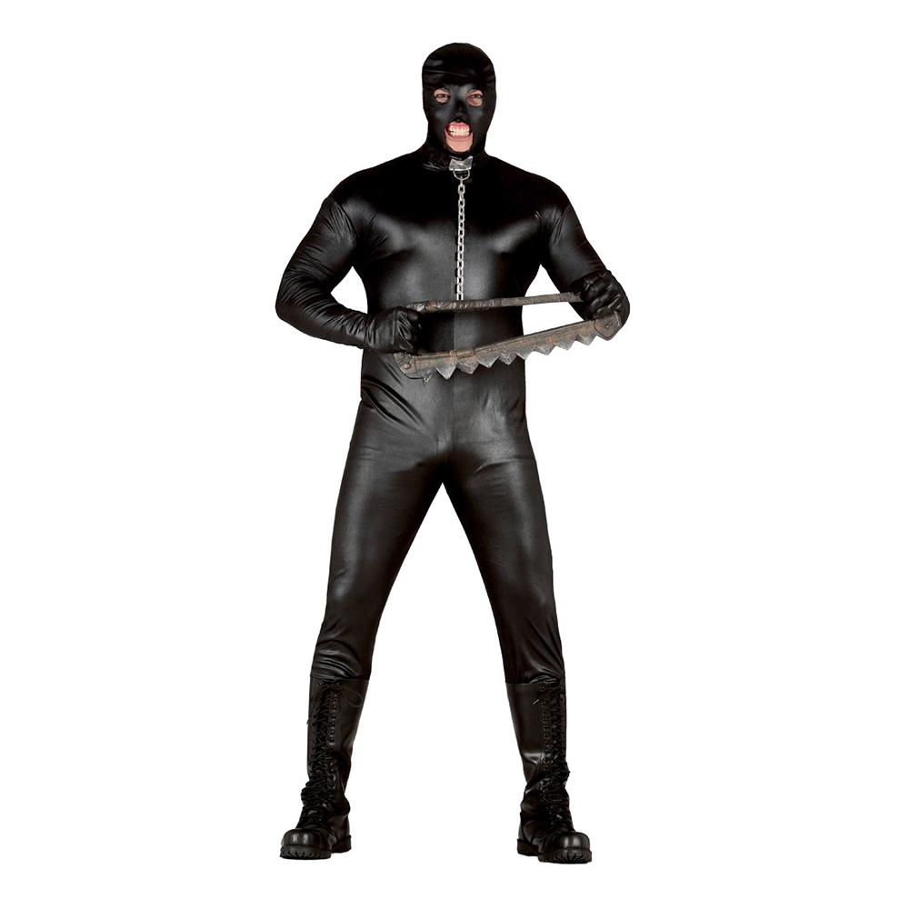 BDSM Svart Maskeraddräkt