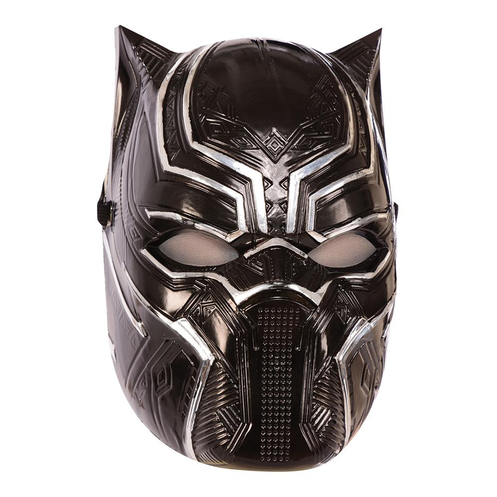 Black Panther Halvmask - One size