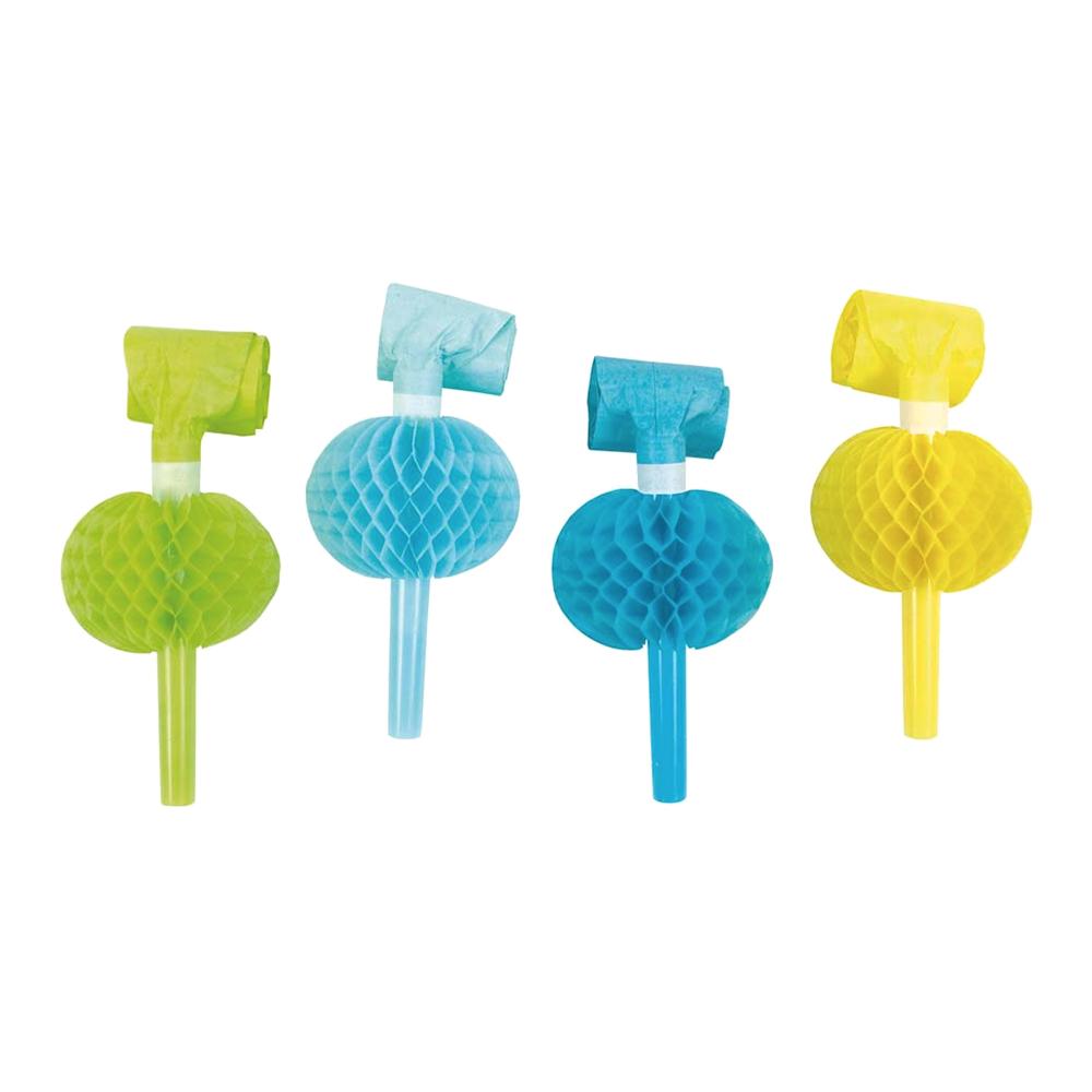 Blåsorm Blå/Gul/Grön Honeycomb - 8-pack