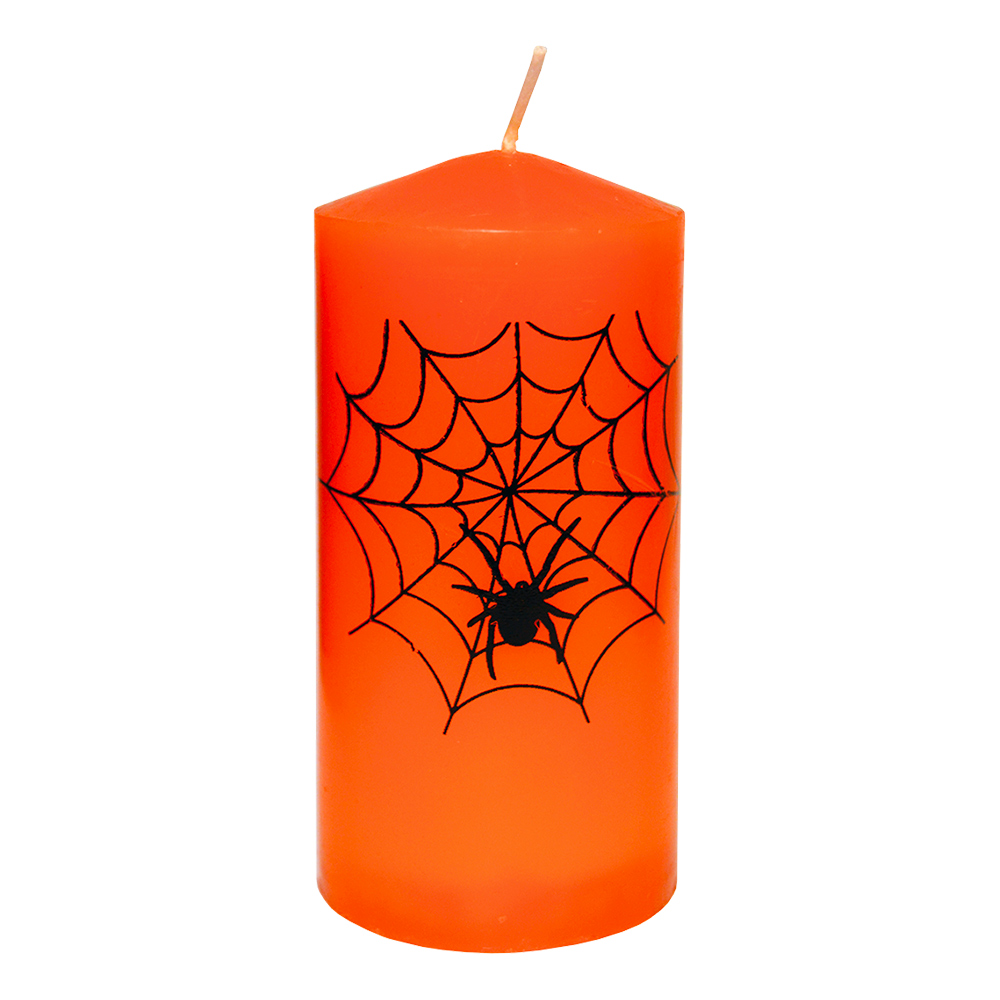 Blockljus Halloween Orange