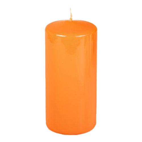 Blockljus Orange Liten