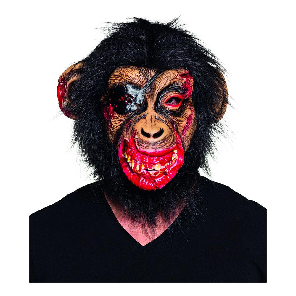 Blodig Apa med Hår Mask - One size