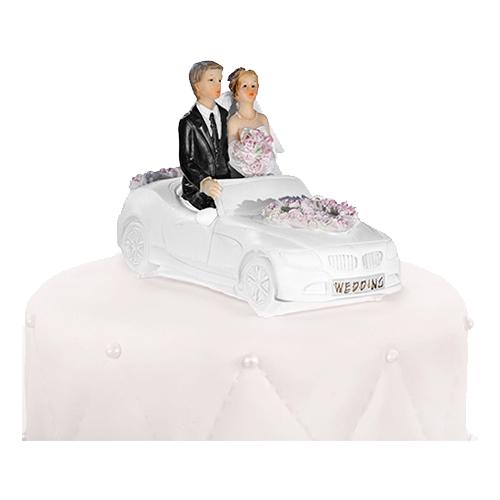 Bröllopsfigur Bil