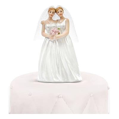 Bröllopsfigur Brudpar Kvinnor