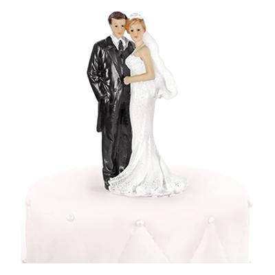 Bröllopsfigur Nygifta Klassisk