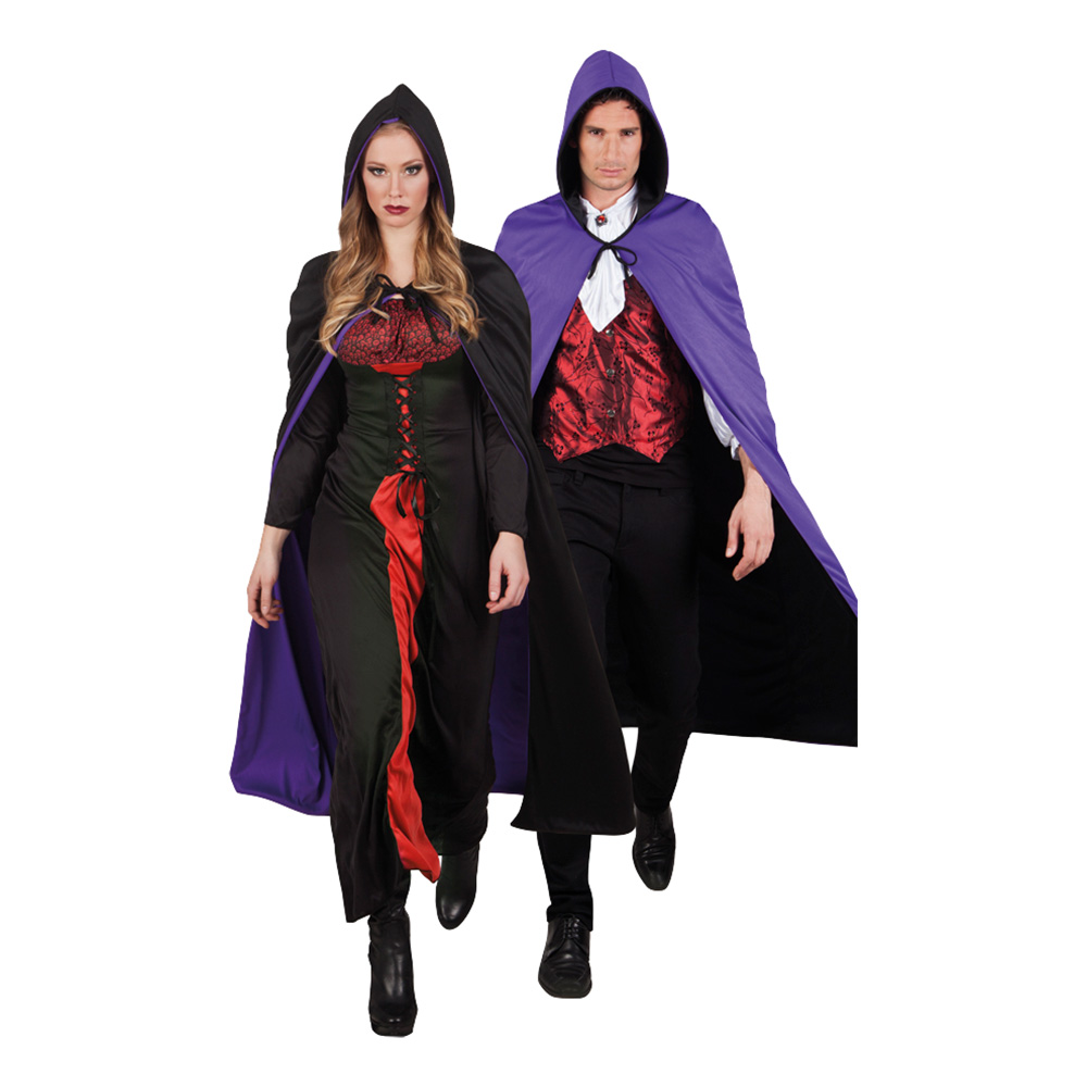Cape Twilight Svart/Lila - One size