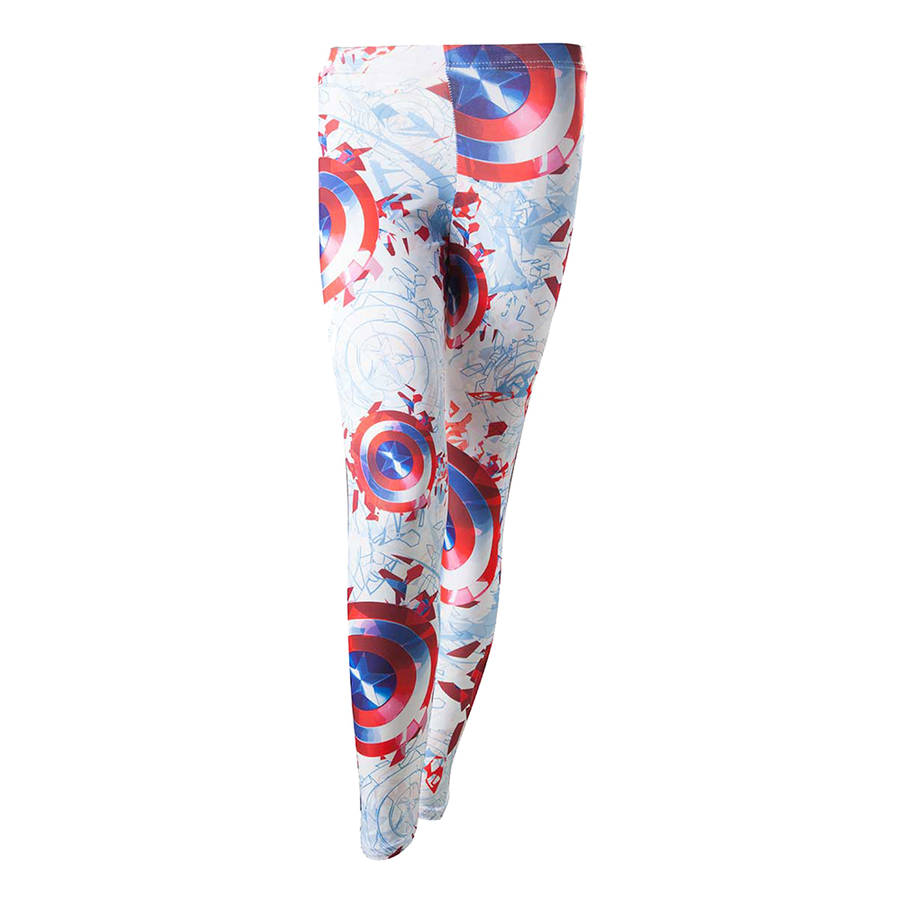 Captain America Leggings - Large