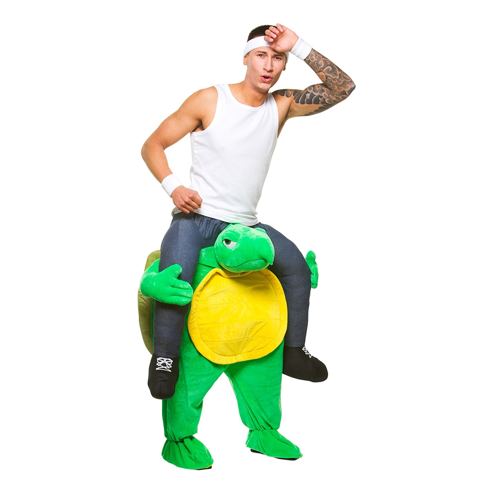 Maskeradkläder Vuxna - Carry Me Sköldpadda  - One size