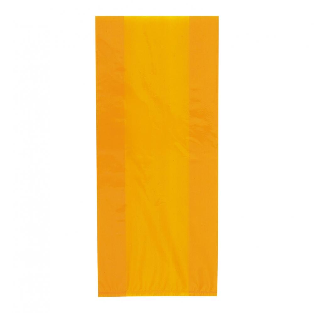 Cellofanpåsar Orange - 30-pack