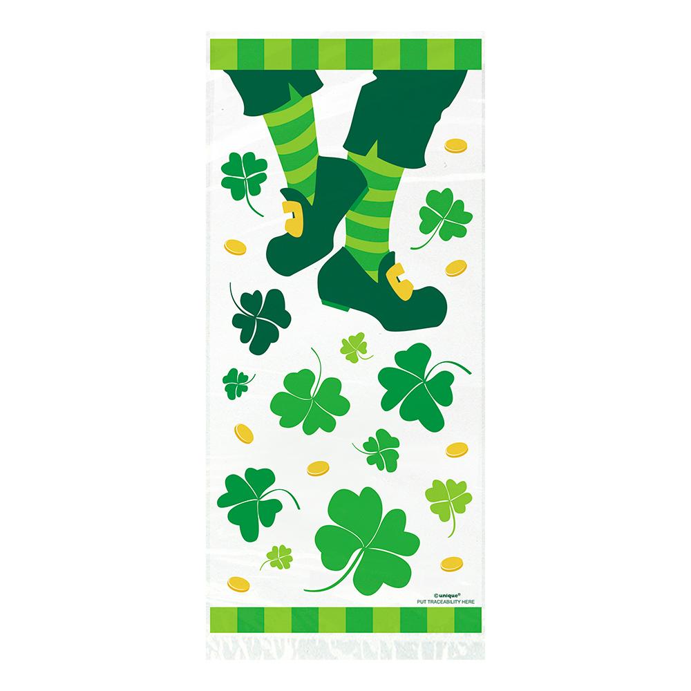 Cellofanpåsar St Patrick's Day - 20-pack
