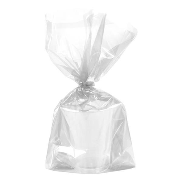Cellofanpåsar Transparenta Stora - 25-pack