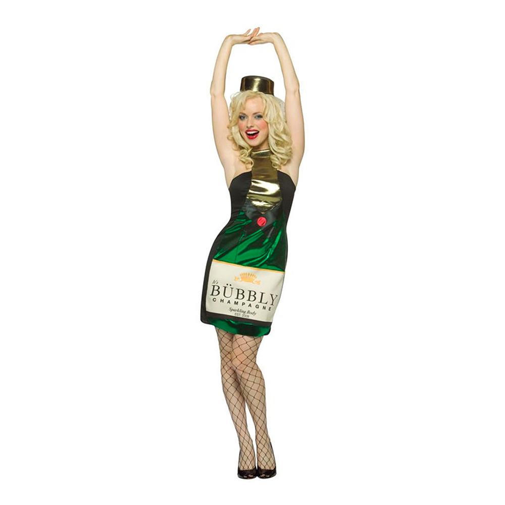 Champagneklänning Maskeraddräkt - One size