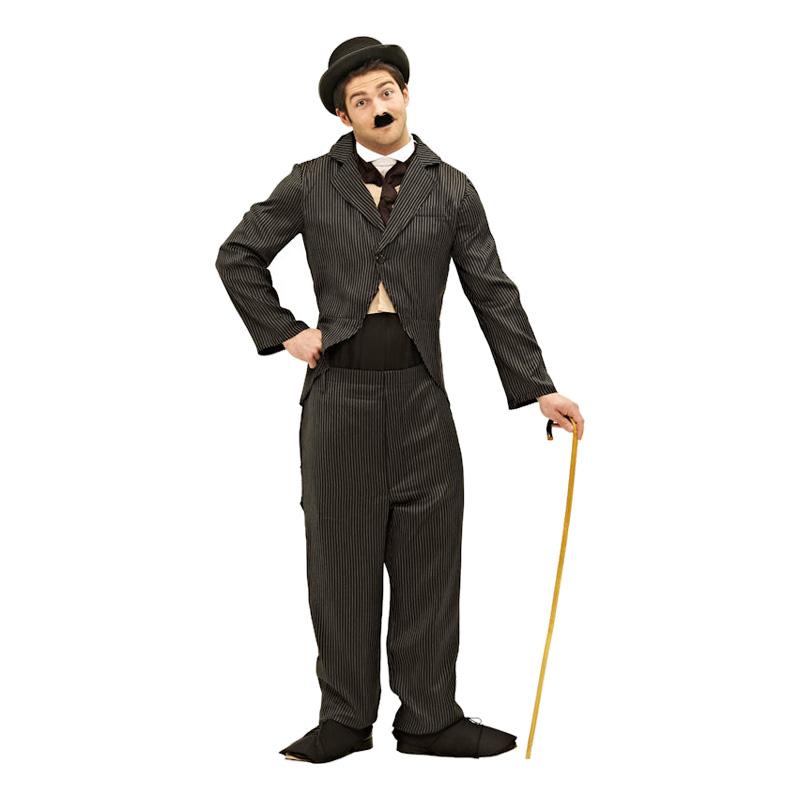 Charlie Chaplin Maskeraddräkt - Standard