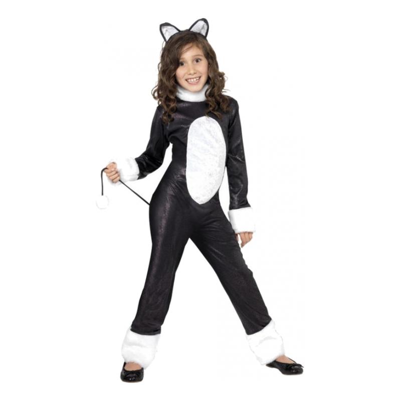 Cool Katt Barn Maskeraddräkt - Small