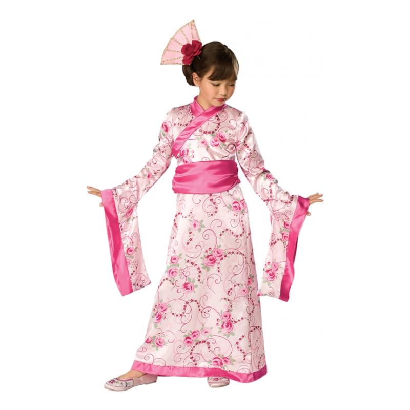 Geisha Barn Maskeraddräkt - Small