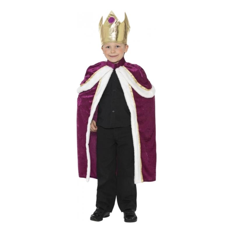 Kunglig Kung Barn Maskeraddräkt - Small